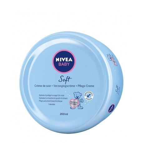 NIVEA Baby Crema Hidratante Rostro y Cuerpo Bebé 200 ml