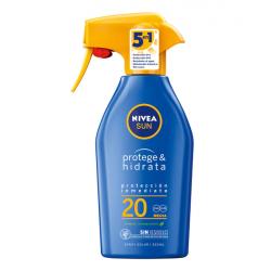 NIVEA Sun Protege & Hidrata Hidratación Duradera Spf 20 300 ml
