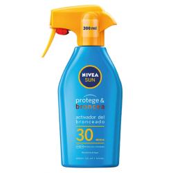 NIVEA Sun Protege & Broncea Spray Solar Spf 30 300 ml