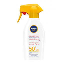 NIVEA Sun Sensitive Protección Inmediata Spray Solar Spf 50 + 300 ml