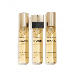 CHANEL Gabrielle Eau de Parfum Twist and Spray Eau de Parfum RECARGAS 3 x 20 ml