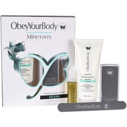 Obey Your Body Natural Glow Nail Kit Ocean