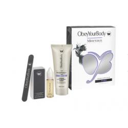 Obey Your Body Natural Glow Nail Kit Paris