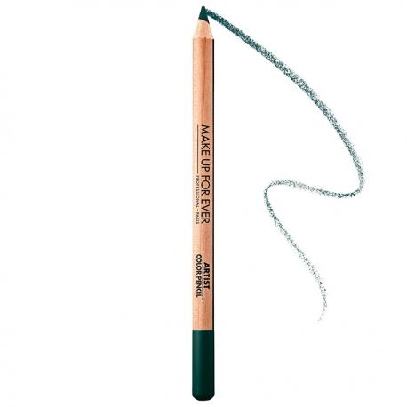 Make Up For Ever Artist Color Pencil Lápiz Multiusos 300 Absolute Esmerald
