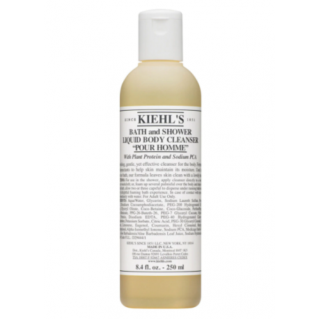 "Kiehl's Bath and Shower Liquid Body Cleanser "" Pour Homme "" 250 ml"