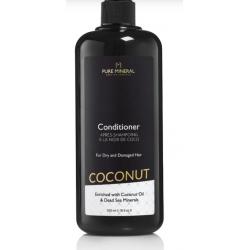 Pure Mineral Dead Sea Cosmetics Acondicionador Coco Cabello Dañado 500 ml
