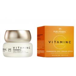 Pure Mineral Dead Sea Cosmetics Crema de Día SPF 15 Vitamina C 50 ml