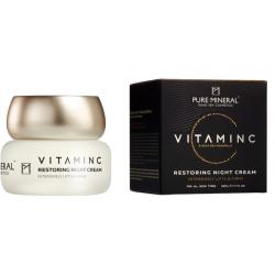 Pure Mineral Dead Sea Cosmetics Crema De Noche Vitamina C Restauradora 50 ml