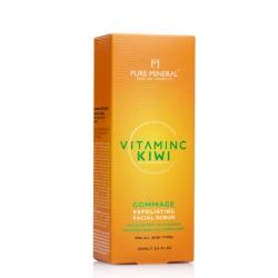 Pure Mineral Dead Sea Cosmetics Exfoliante Facial Vitamina C 100 ml