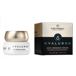 Pure Mineral Dead Sea Cosmetics Crema Antiarrugas Hyaluron 50 ml