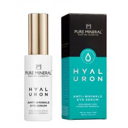 Pure Mineral Dead Sea Cosmetics Serum Contorno de Ojos Antiarrugas Hyaluron 30 ml