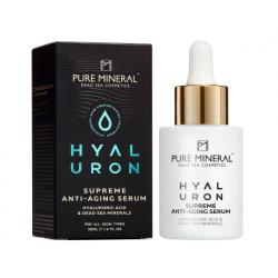 Pure Mineral Dead Sea Cosmetics Sérum Antienvejecimiento Supremo Hyaluron 30 ml