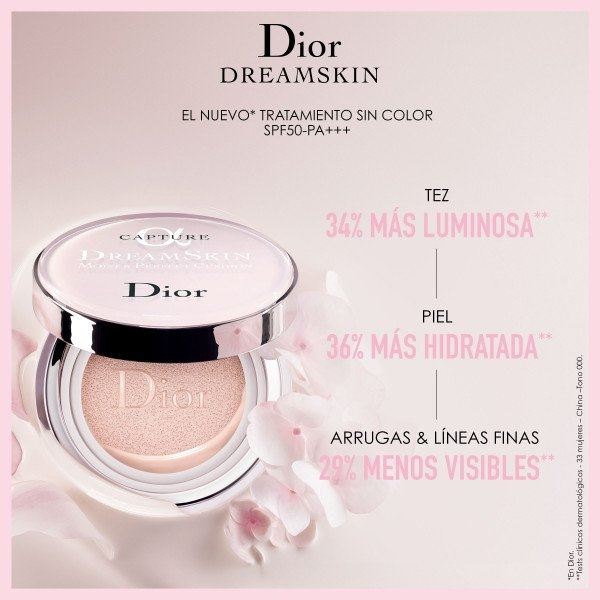 Dior Capture Dreamskin Moist & Perfect Cushion SPF 50 - PA+++ Sin Color